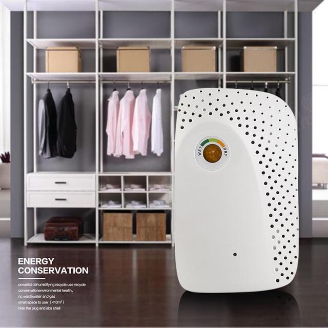 Мини портативный осушитель воздуха, электрическая сушилка для воздуха, умный влагопоглощающий Осушитель для домашнего гардероба, книжного шкафа