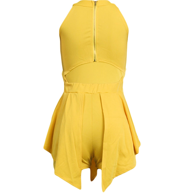 HTB1GHxWLAvoK1RjSZPfq6xPKFXaZ - Women Elegant Jumpsuits & Rompers Halter Irregular Sleeveless Slim Bodycon Overalls Cocktail Club Party Bodysuit