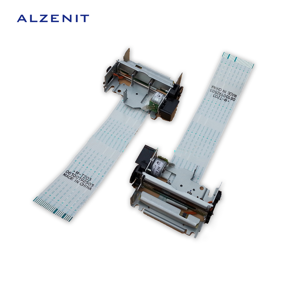 GZLSPART For Epson TM-T58 M-T203 OEM New Thermal Print Head Barcode Printer Parts On Sale alzenit for epson m t532ap m t532af 532af oem new thermal print head barcode printer parts on sale