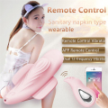 New Smart remote  APP control vibrator wear Sanitary napkin magic wand dildo Dual 12-frequency vibrador Adult Sex Toys For Women