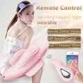Nuevo smart app control remoto vibrador desgaste toalla sanitaria magic wand consolador doble 12-frecuencia vibrador juguetes adultos del sexo para las mujeres