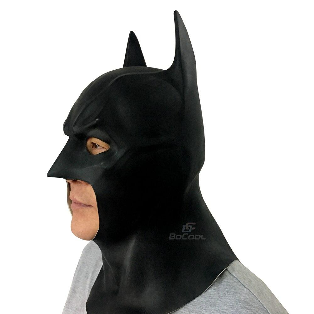 Batman Mask Vuxen Halloween Mask Realistisk Full Face Latex Party - Semester och fester - Foto 3