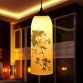 European Style LED E27 AC 90-260V  Ceramic Home Decor Bedroom Lamp Pendant