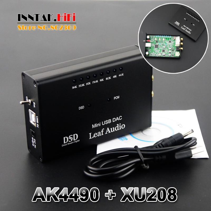 bilder für TOP HIFI AK4490 XMOS XU208 USB DAC/kopfhörer koxiale DSD/PCM 384 Karat/32bit Ausgang