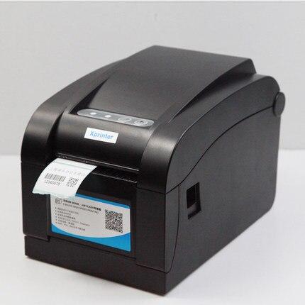 ФОТО wholesale width20-80mm Stickers printer brand new   Barcode Label  Sticker bill Printer High quality High Speed  Print XP-350B