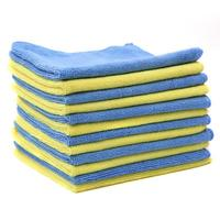 VODOOL 12pcs Cleaning Cloth Car Superfine Fiber Cleaning Cloth Kitchen Towel Microfiber Wash Windsheild Cleaner Accessories