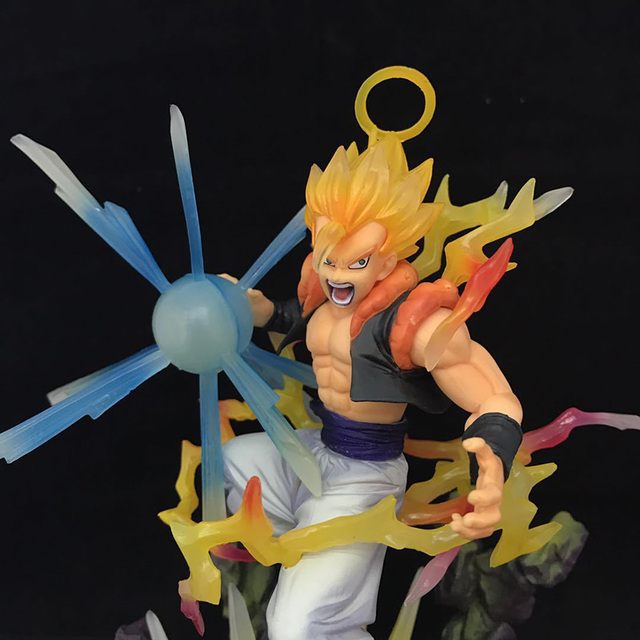 New Dragon Ball Z Gogeta Action Figure 1/8 scale painted figure Fighting Ver. Super Saiyan Gifts no retail box (Chinese Version) 3