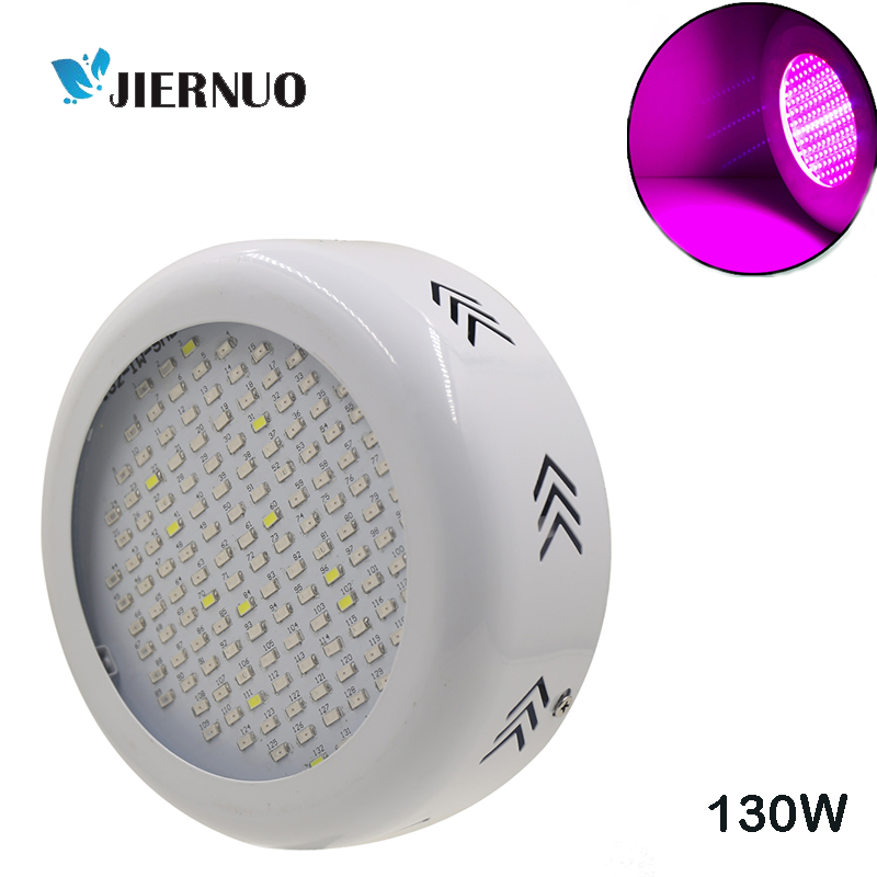 130W LED Grow Light UFO 5370 277leds 77Red+33Blue+11White+6IR+5UV Full Spectrum led plant grow lamp for hydroponics Flowers tent wholesale 300w high power led grow light red blue uv ir for hydroponics greenhouse grow tent 300w plant lamp free shipping