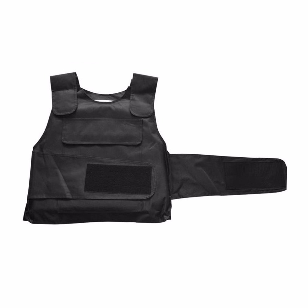 Breathable Tactical Vest Stabproof Vests Anti Tool Self Defense Service Equipment Outdoor Self Defense Vest Supplies Black