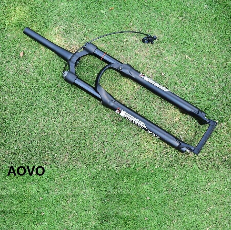 Curso cônico do impacto do ar da tomada da suspensão da forquilha da bicicleta de montanha do tubo/reto 100mm 32mm 26 27.5 29 além do sr suntour epixon