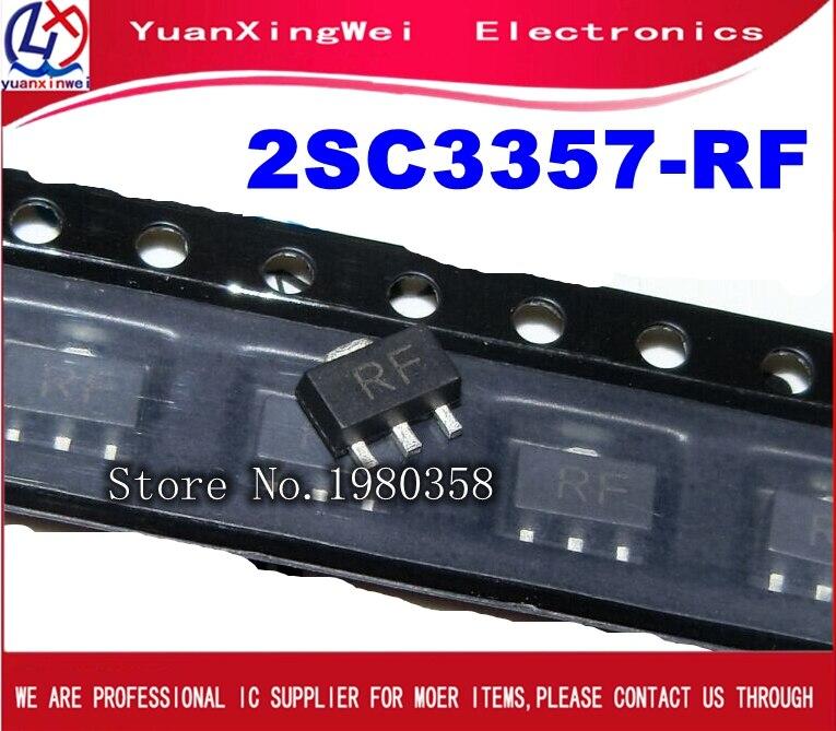 100PCS 2SC3357-RF 2SC3357 RF SOT89  New Original
