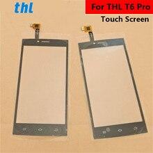 עבור THL T6 פרו מגע מסך קדמי זכוכית Touchpad החלפת חיצוני פנל עדשת כיסוי תיקון חלק