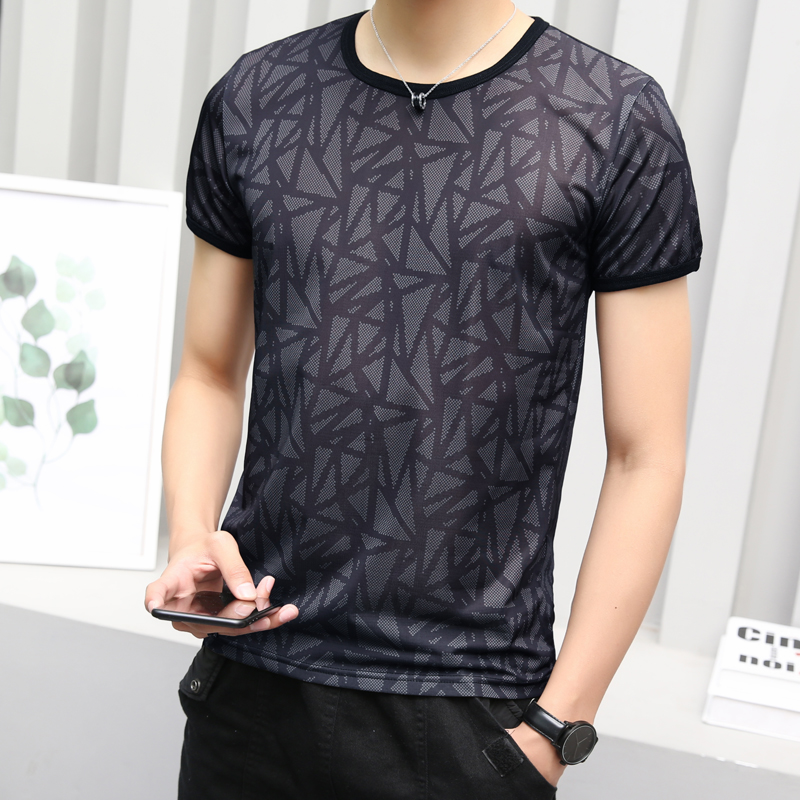 2019 Summer O neck T Shirt Sport Running simple deign for man 4 color