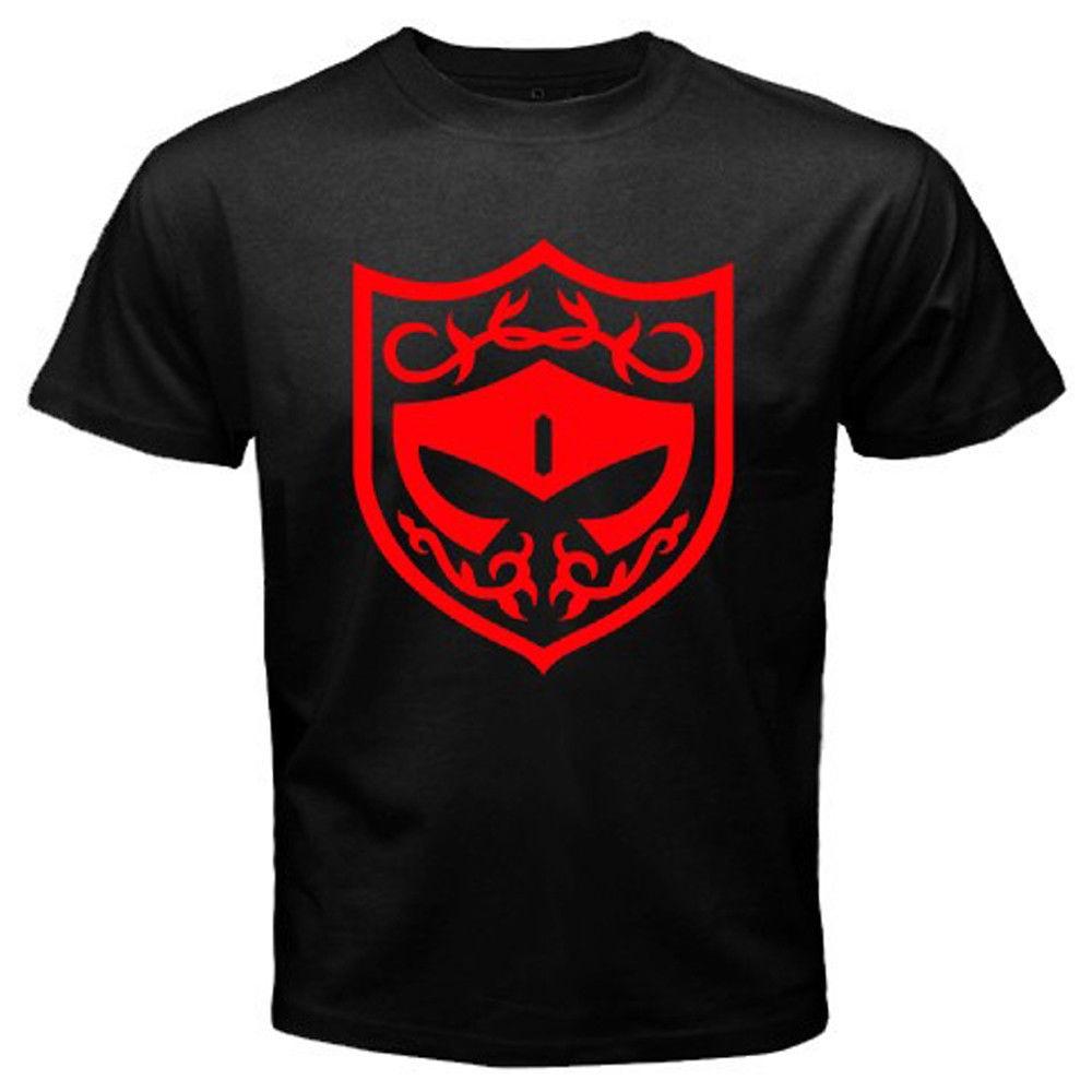 Gildan New KAMEN RIDER GAIM Baron Team Logo Mens Black T-Shirt Size S to 3XL