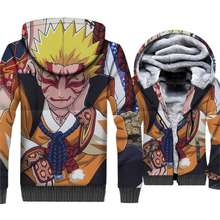 Naruto 3D Print Warm Hoodie