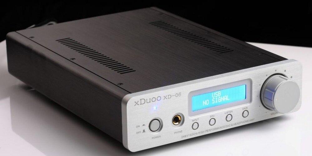 Xduoo Xd 06 Wm8741 24bit 192khz Usb Coaxial Optical Dac Desktop Headphone Amplifier In From Consumer Electronics On Aliexpress