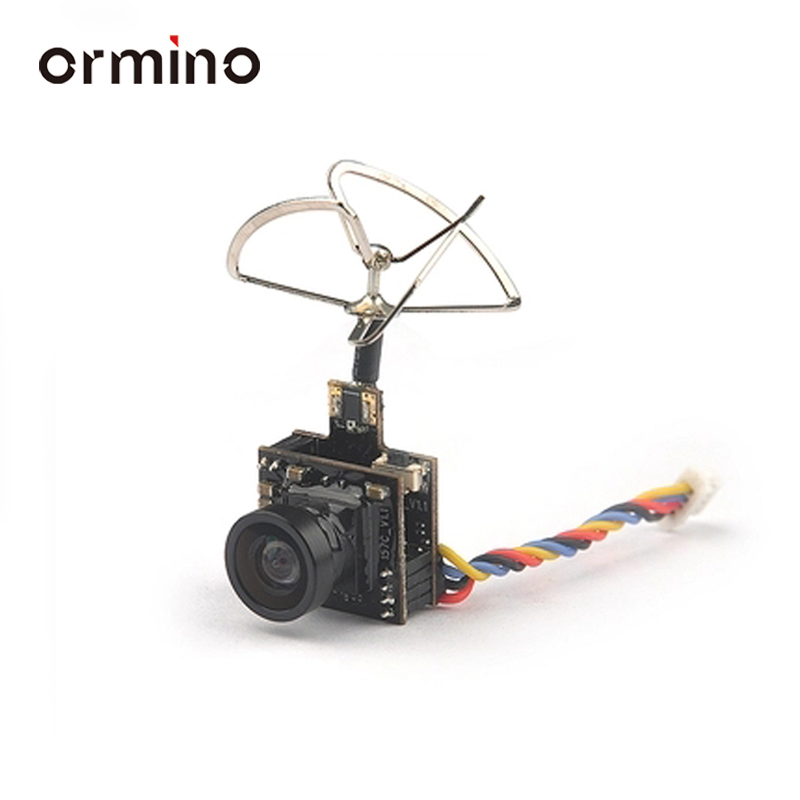 Ormino 5.8G 25MW 100MW FPV Camera AIO 48CH VTX 600TVL RC Racing Quadcopter Mini Drone Fpv NTSC Camera Racer Spare Parts original emax babyhawk spare part 5 8g 40ch 800tvl 25 200mw switchable vtx aio 520tvl cmos fpv mini camera for rc models