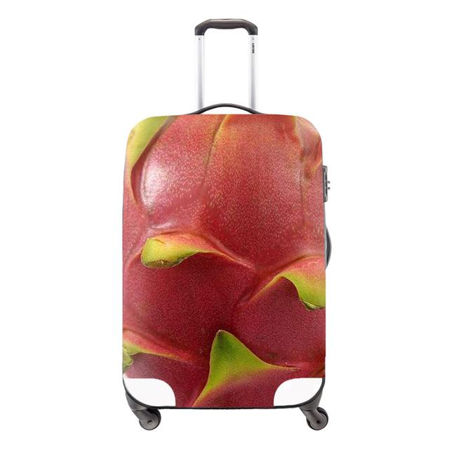 Moda de impressão de bagagem para mulheres impermeável caso de proteção cobre para mala de viagem acessórios