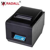Rd-8250 черный и белый Стиль и USB + LAN Тип интерфейса 80 мм Тепловая POS чековый принтер с auot-резак