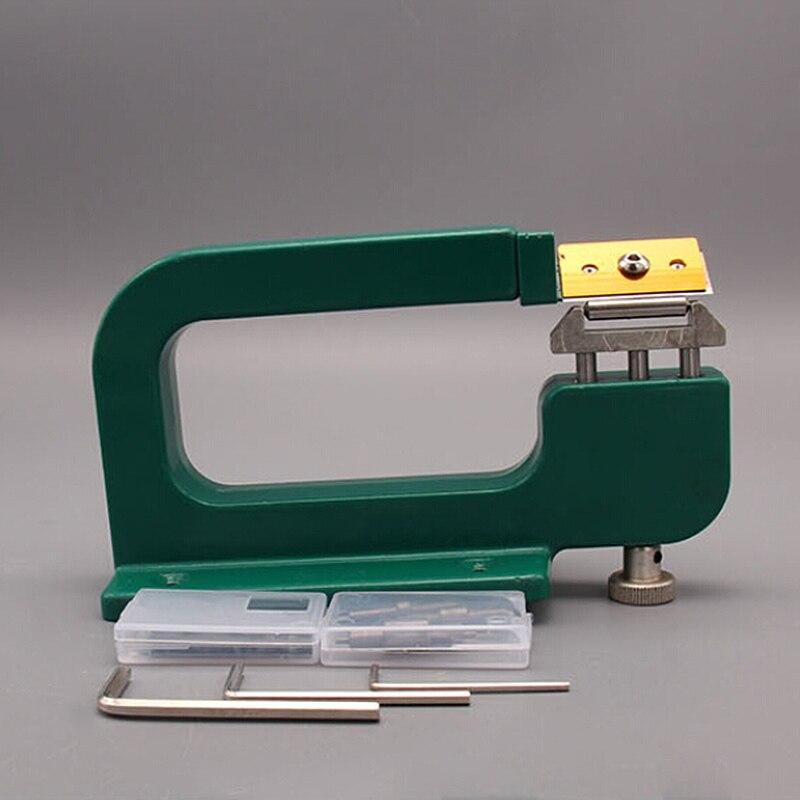 Handmade DIY Leather Art Peeling Tool Leather Craft Splitter Skiver Paring Peeling Machine Edge Cut Skiving Shovel New
