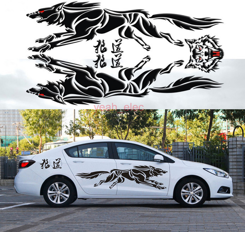 100 new car decal vinyl graphics side decals sticker