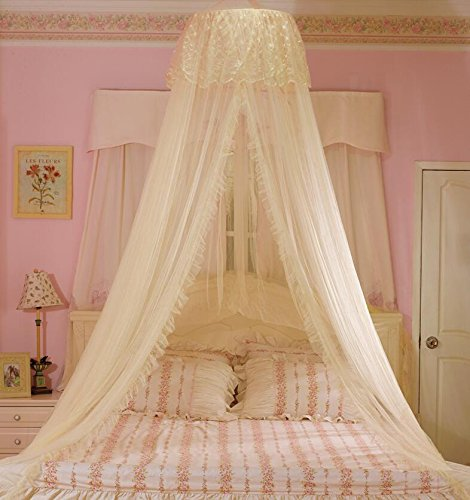 Mosquito Nets Curtain for Bedding Set Princess Bed Canopy Bed Netting Tent for Girls Bed Canopy & Mosquito Nets Curtain for Bedding Set Princess Bed Canopy Bed ...