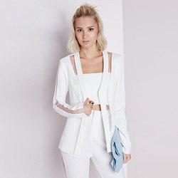 New 2016 summer organza patchwork solid slim women suit blazer font b jackets b font feminino.jpg 250x250