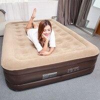 Повышенных и утолщенной надувной бытовые одной воздушной подушке матрас двойным разрывом мебель полдень спит кровать