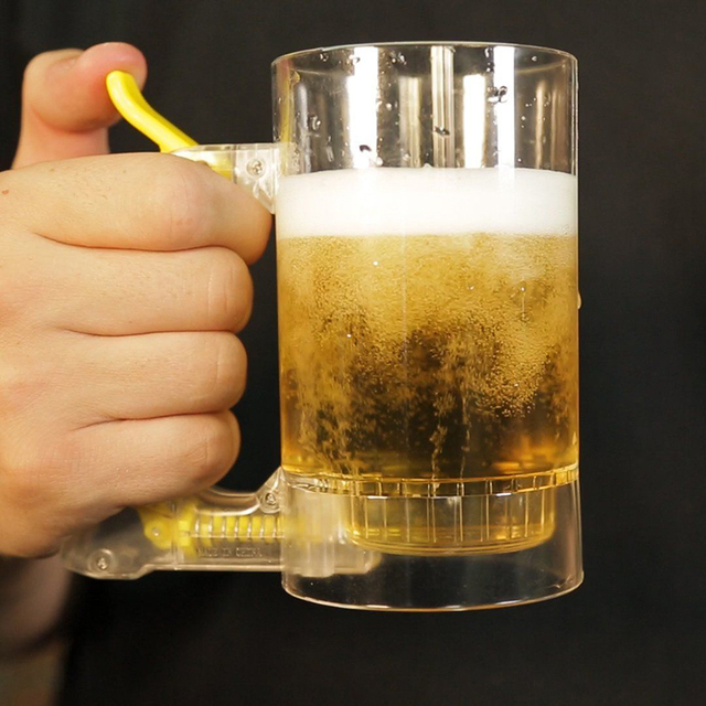 Bar Atmosfera Bolha De Espuma de Cerveja Caneca Hora Amigável Fabricante de Espuma de Cerveja Frothing Copo Fontes Do Partido Copo De Cerveja Caneca de Cerveja Foamer