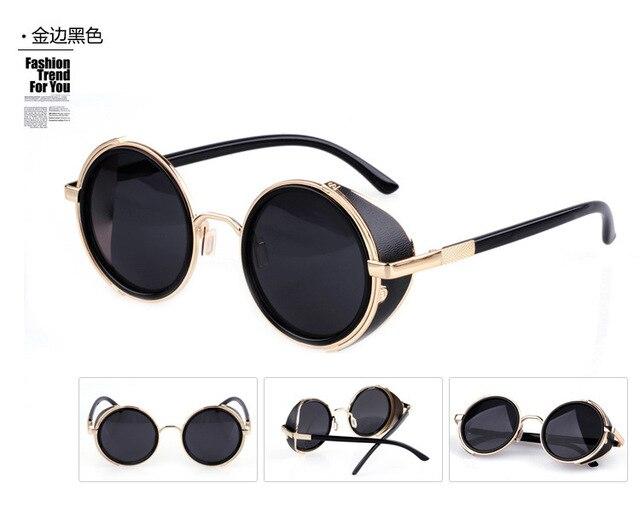 9df4308b68 New Arrival European Style Round Shape Sunglasses Women Men Lady Unisex Sun  Glasses Female Eyewear Accessories LFZ7