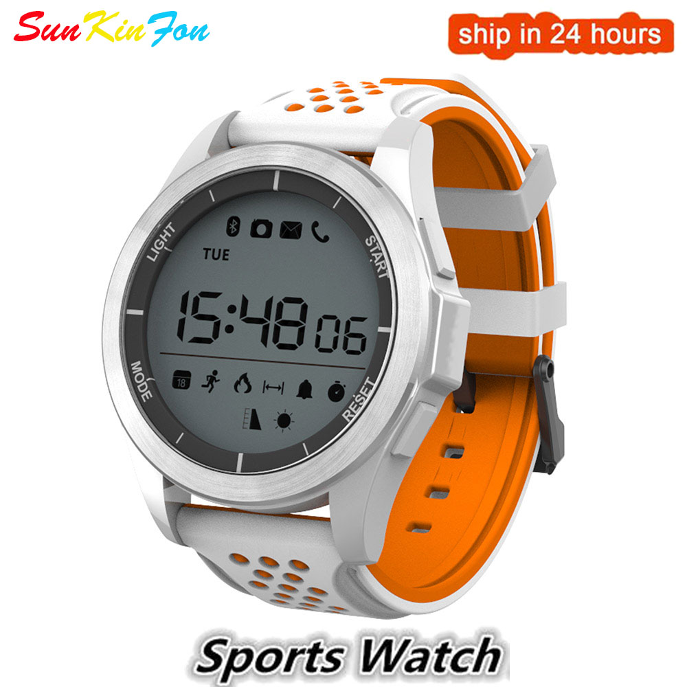 Bluetooth Sports Smart Watch Waterproof Pedometer Outdoor Fitness Tracker <font><b>Smartwatch</b></font> for Huawei Honor 9i Play 10 <font><b>V10</b></font> 9 8 7 6A 6 image