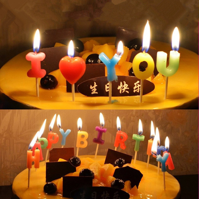 Happy Birthday Gift Surprise Candles Romantic Ideas Kids Party