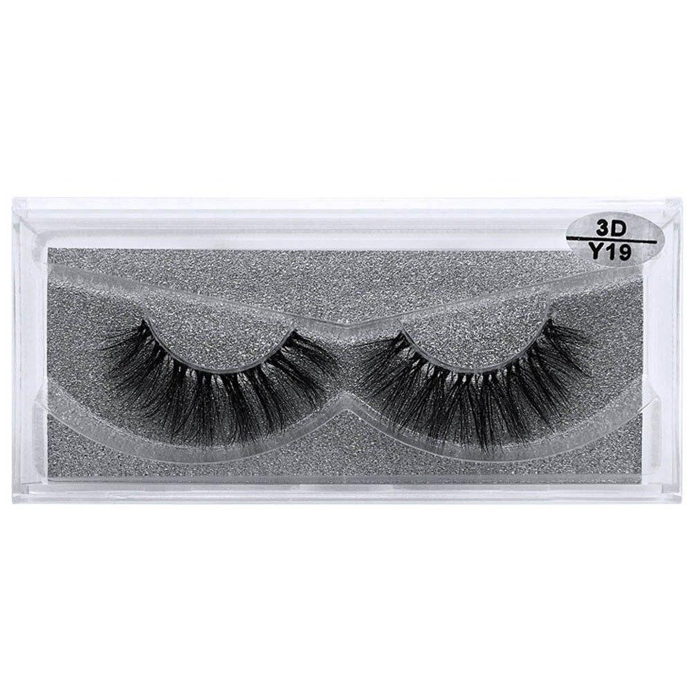 Invisible band 3D Mink Eyelashes Natural Long Mink Lashes ...