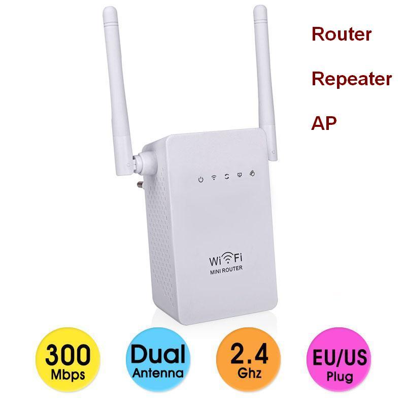 2.4Ghz 300Mbps brezžični WiFi usmerjevalnik ojačevalnik signala 802.11N ojačevalnik Wi-fi območje razširitve repetidor z anteno WiFi
