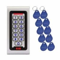 SIB Waterproof IP68 Metal Case RFID 125KHZ ID Keypad Single Door Stand Alone Access Control Wiegand