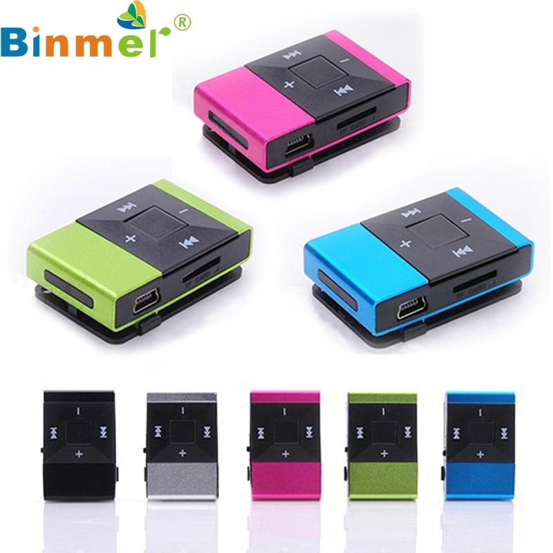 Binmer A18 neue Mini-USB-Clip-Digital-MP3-Musik-Player-Unterstützung - Tragbares Audio und Video - Foto 2