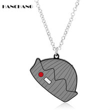 HANCHANG Riverdale Jughead Hat Pendants Necklaces Link Chain Choker Necklace for Women Men Creative Accessories collares(China)