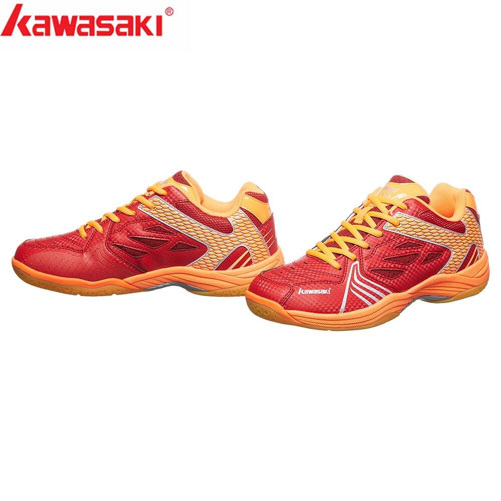 Kawasaki Sneakers Badminton Shoes Wear resistant Rubber Anti Slippery Indoor Court Professional Sport Shoe for Men