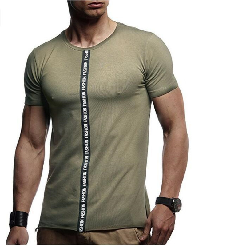 Men's Summer Short Sleeve Slim Fit mens clothing T Shirt casual fashion men brand tshirts