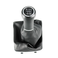 New For VAUXHALL OPEL ASTRA H (04 10) CORSA D(06 14) Car styling 6 Speed Automatic Car Gear Shift Knob Leather Boot