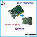 Linsn отправки карты TS802 и Linsn получения карты RV908M полноцветный светодиодный экран контроллера