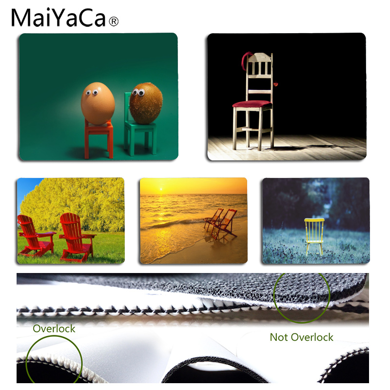 Mouse & Keyboards Learned Maiyaca New Design Chair Computer Gaming Mousemats Size For 18x22cm 25x29cm Rubber Rectangle Mousemats