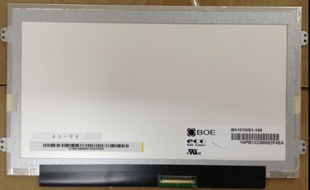 Lcd del ordenador portátil para acer aspire one d255 d260 d257 d270 b101aw06 v.1 ltn101nt05 n101l6-l0d pantalla lcd reemplazo panel