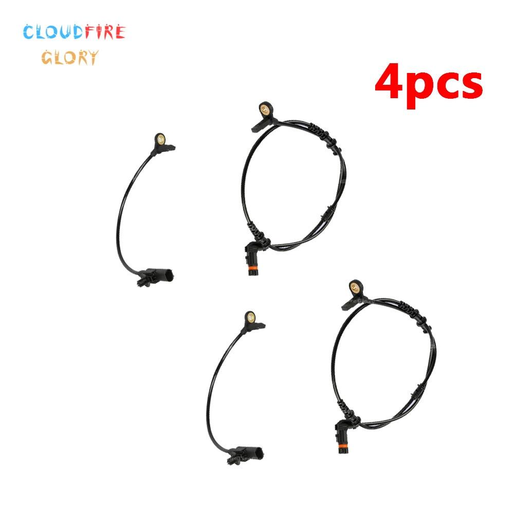 4Pcs 1645400917 1645400717 ABS Wheel Speed Sensor For