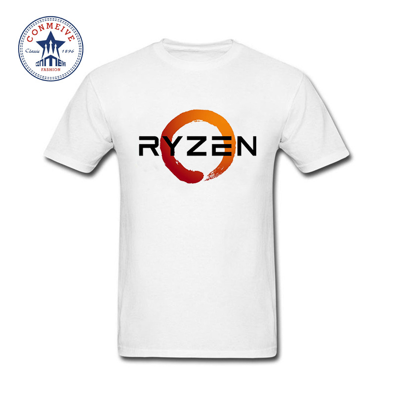 2017 Hot Selling Funny PC CP Uprocessor AMD RYZEN Cotton T Shirt for men ...