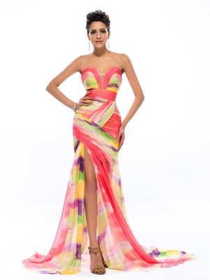 Мамам молодоженов- вечернее платье до пола с 3/4 рукавами и вышивкой бисером - Цвет: Same As Picture