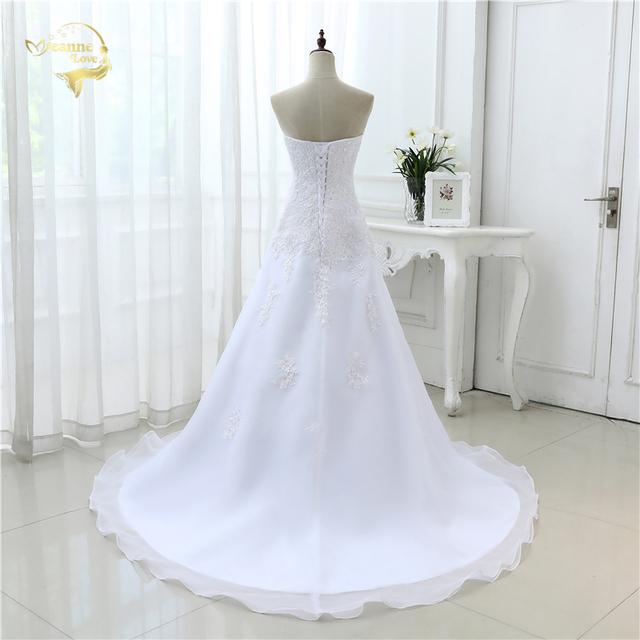 Hot Wedding Dresses Elegant Organza Applique Beading Vestidos De Novia Plus Size Beach Bridal Gowns 39001231