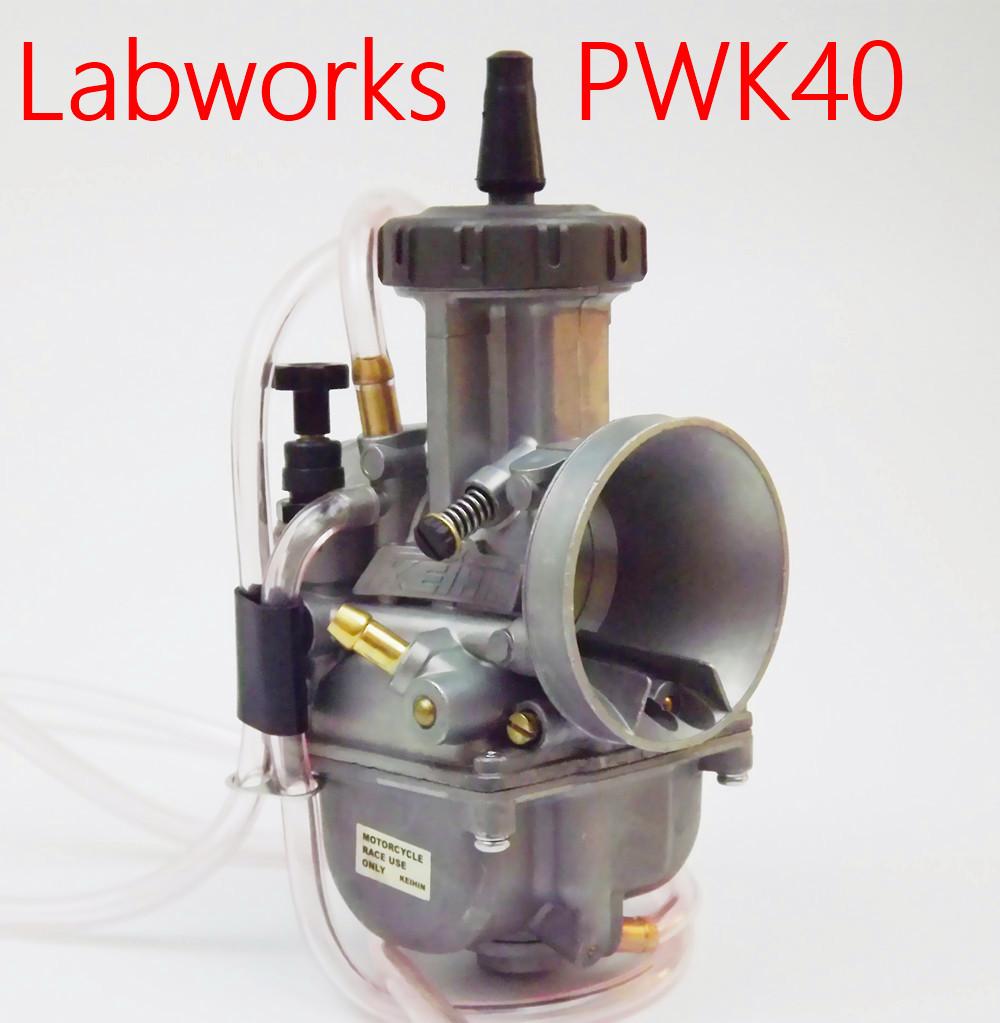 Prix pour Nouveau Aftermarket PWK 40 PWK40 Carburateur pour PWK CARBURATEUR KEIHIN de moto carburador universel utilisé scooter UTV ATV