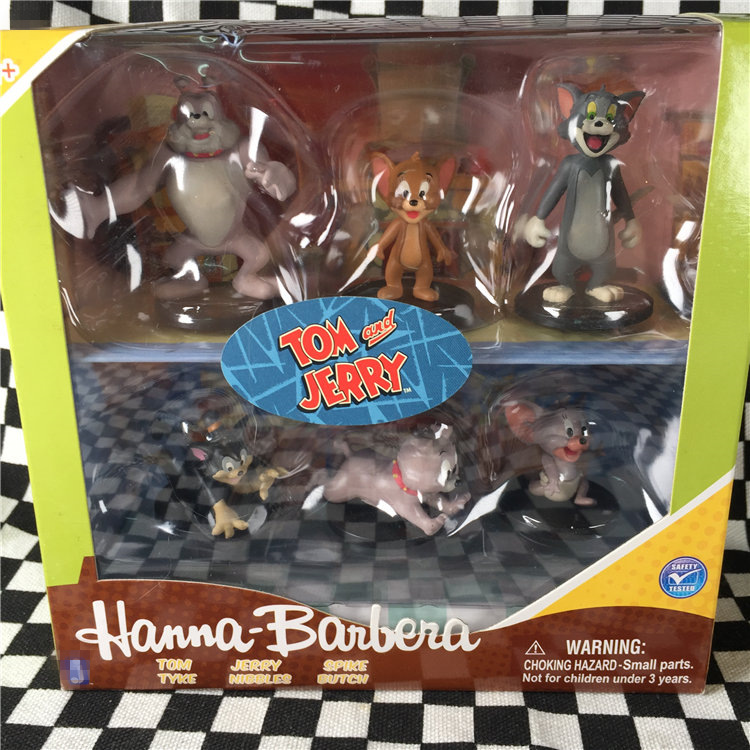The Tom and Jerry Cat Mouse Action Figure Collectible New