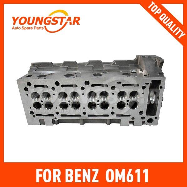 Головка блока цилиндров OM611/6110103620/дизельный 16 V 4 1998/железо добывающей промышленности 908577